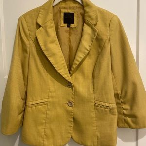Mustard/Gold/Yellow Blazer - The Limited - Medium